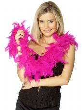 Fuchsia/ Hot Pink Feather Boa 1.8m